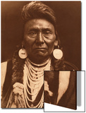 Chief Joseph-Nez Perce, 1903 Láminas por Curtis, Edward S.