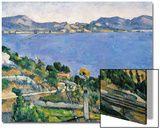 L'Estaque, View of the Bay of Marseilles, circa 1878-79 Prints by Paul Cézanne