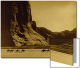 Canon De Chelly, Arizona, Navaho (Trail of Tears) Prints by Edward S. Curtis