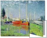 Argenteuil, circa 1872-5 Poster av Claude Monet