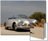 1958 Porsche Speedster 356 1600 Super Art by S. Clay