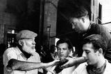 Ernest Hemingway Photo by  Globe Photos LLC