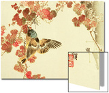Flowers and Birds Picture Album by Bairei No.10 Art by Bairei Kono