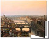 Florence Ponte Vecchio Prints by  kirilstanchev