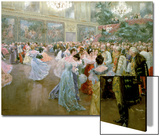 Court Ball at the Hofburg, 1900 Prints by Wilhelm Gause