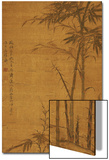 Green Bamboo in the Sheong Gu (Fine Outline) Style, 1319 Kunstdrucke von Li Kan