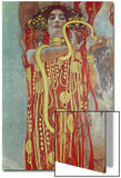 Hygieia, Detail from Medicine, 1900-1907 Print by Gustav Klimt