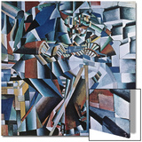 The Knife Grinder, 1912-13 Art by Kasimir Malevich