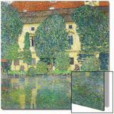 Schloss Kammer Am Attersee III (Wasserschloss), 1910 Posters by Gustav Klimt
