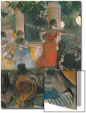 Cafe Concert at Les Ambassadeurs, 1876-77 Posters by Edgar Degas