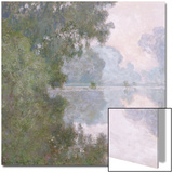 Morning on the Seine, Near Giverny, 1896 Prints by Claude Monet