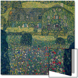 Country House on Attersee Lake, Upper Austria, 1914 Art by Gustav Klimt