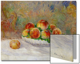 Peaches Art by Pierre-Auguste Renoir