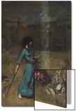 The Magic Circle, 1886 Poster by John William Waterhouse