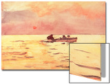 Rowing Home, 1890 Prints by Winslow Homer