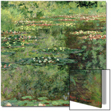 The Waterlily Pond, 1904 Arte di Claude Monet