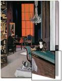 Interior - the Orange Blind, c.1928 Lámina por Francis Campbell Boileau Cadell