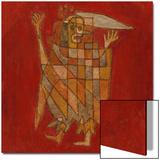 Allegorical Figure; Allegorische Figurine (Verblassung) Prints by Paul Klee