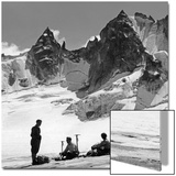 Bergsteiger in der Schweiz, 1939 Poster by  Knorr & Hirth