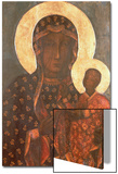 The Black Madonna of Jasna Gora, Byzantine-Russian Icon, 14th Century Pósters