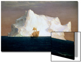 Iceberg, 1891 Posters by Frederick Edwin Church