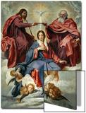 Die Krönung der Jungfrau Poster von Diego Velázquez
