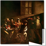 The Calling of St. Matthew, C.1598-1601 Prints by  Caravaggio