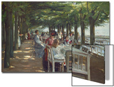 The Terrace at the Restaurant Jacob in Nienstedten on the Elbe River, 1902 Posters by Max Liebermann