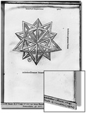 "Dodecahedron, from ""De Divina Proportione"" by Luca Pacioli, Published 1509, Venice Print by  Leonardo da Vinci"