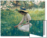 Spring Flowers Poster by Arthur Hacker