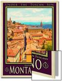 Montalcino Tuscany 1 Prints by Anna Siena
