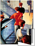 Stairs to the Bauhaus, 1932 Prints by Oskar Schlemmer