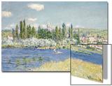 Vetheuil Prints by Claude Monet