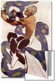 L'Apres Midi d'Un Faune, Costume Design for Nijinsky (1890-1950) Posters by Leon Bakst