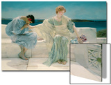 Ask Me No More, 1906 Art by Sir Lawrence Alma-Tadema