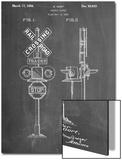 Railroad Crossing Signal Patent Print