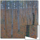Beech Forest, before 1905 Posters by Gustav Klimt