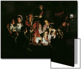 An Experiment on a Bird in the Air Pump, 1768 Prints by Joseph Wright of Derby