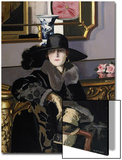 A Lady in Black Prints by Francis Campbell Boileau Cadell