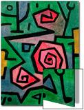 Heroic Roses, 1938 Poster von Paul Klee