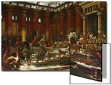 The Visit of the Queen of Sheba to King Solomon, 1890 Posters by Edward John Poynter