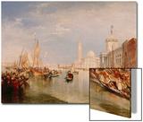 Venice, Dogana and S. Giorgio Maggiore Art by J. M. W. Turner