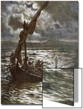 Jesus Walking Upon the Sea Prints by William Brassey Hole