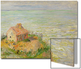 The Shack of the Customs Officials, Afternoon; 1882 Posters by Claude Monet