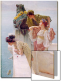 A Coign of Vantage, 1895 Prints by Sir Lawrence Alma-Tadema