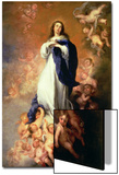 Immaculate Conception of the Escorial, circa 1678 Prints by Bartolome Esteban Murillo