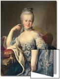 Archduchess Marie Antoinette Habsburg-Lotharingen (1755-93) Poster by Martin van Meytens