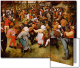 The Wedding Dance, C.1566 (Oil on Panel) Posters van Pieter Bruegel the Elder