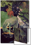 The White Horse, 1898 Prints by Paul Gauguin
