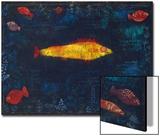 The Golden Fish, 1925 Affiches par Paul Klee